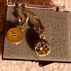 MICHAL NEGRIN round earrings